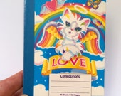 Mini Notebook - Lisa Frank - Collectible