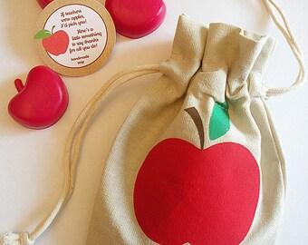 Apple for the Teacher Appreciation Apple of my Eye Soap Gift