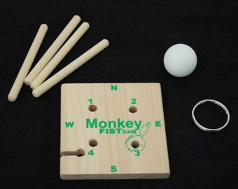 Monkey Fist Wrapping Jig