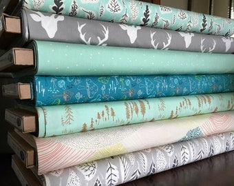 Hello Bear Art Gallery Fabric Fabric Bundle, choose your cut