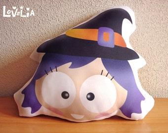 Purple Witch FABRIC CUSHION
