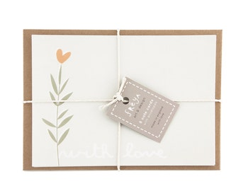 WITH LOVE - Note Cards (FN6)