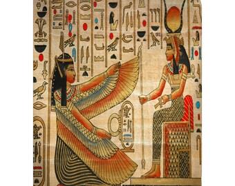 Personalized Egyptian Theme Plush Fleece Blanket - Art design -  SALE PRICING