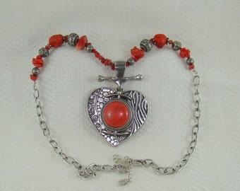 On Sale You & I Necklace Quality Handmade Reversable Pendant So Aggressive Designer Signed