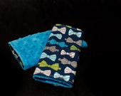Lil'Adi Letzli Drool Pads/ Strap Covers for your Baby Carrier- Hipster Bowties