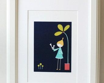 The Quiet - A4 fine art print