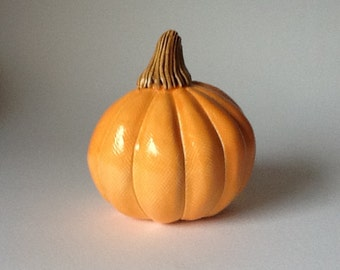 Orange Ceramic Pumpkin Autumn Table Decoration 4