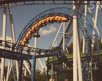 Hersheypark SooperDooperLooper Roller Coaster Print