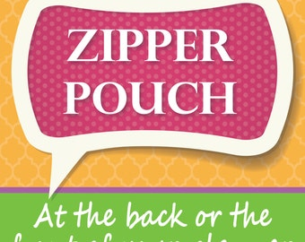 Zipper Pouch for your planner