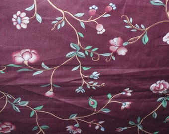 """Lee / Jofa Fabric Canton Garden A Museum of the American China Trade 52"""" WIDE Sold by the Yard"""