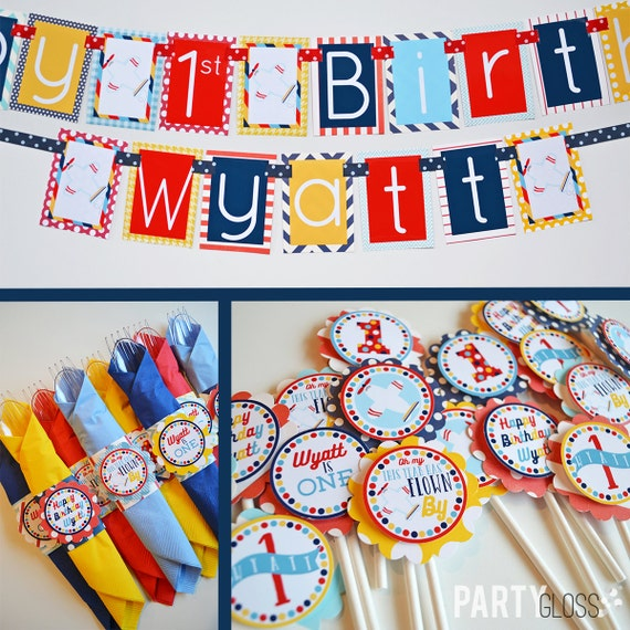 Airplane birthday party decorations fully assembled by for Airplane party decoration