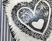 A Loving Home Folk Art Tile
