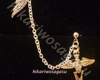 Wings of the Angel Sword Earcuff