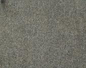 Black Charcoal Tweed-  Felted Wool Fabric Yard in 100% Wool in a Fat Eighth or Fat Quarter Yard
