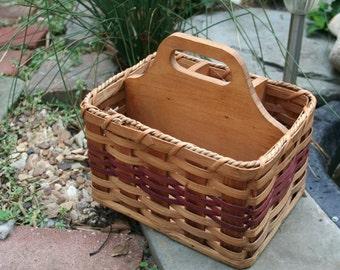 Lovely and Charming Handmade Silverware / Storage Basket