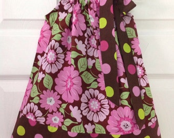 Ready to Ship! Floral Pillowcase Dress 18 months