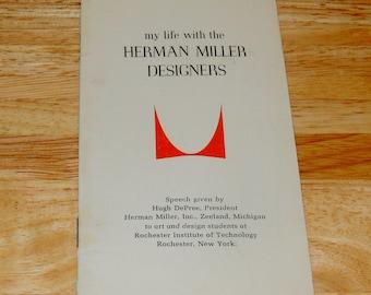 HERMAN MILLER Designs speech booklet