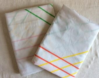 Vintage Set of Marimekko King pillowcases