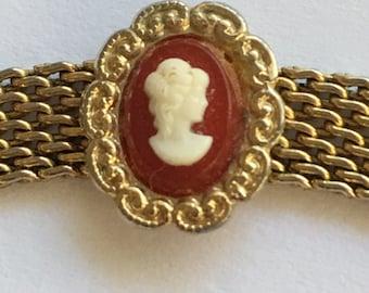 Vintage Victorian Revival Cameo Park Lane Necklace