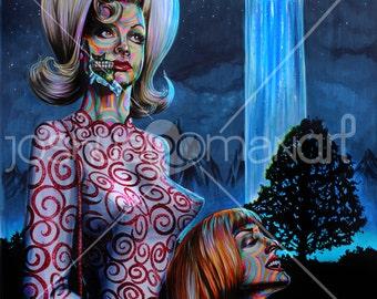 "14"" X 11"" Mars Attacks  - Print"