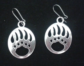 Bear claw earrings