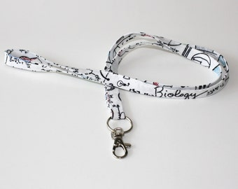 Science Notes ID badge holder