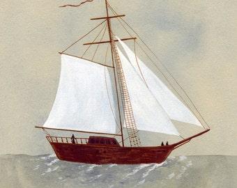 set sail, onward
