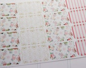 16 Half Box Stickers Christmas Planner Stickers RTS PS235