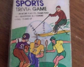 1984 hoyle sports trivia  card game  stocking stuffer