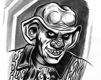 INKTOBER drawing day 2: Quark