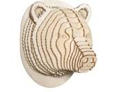 Stewart Jr. Medium Birch Bear Head