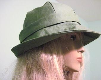 Spring Green Womens Brim Hat