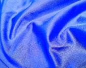Royal Blue Shiny Spandex Fabric