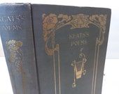 RESERVED FOR DANIELLE -  Works of John Keats from 1895 Victorian Poetry