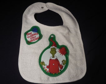 Dr Seuss Inspired Bib (not a licensed product)
