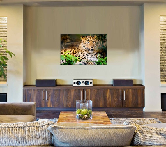 Canvas Prints - Leopard Wall Art Decor - Leopard Canvas Art - Canvas Prints of Tiger - Photo Canvas Wall Art – Wildlife Wall Decor