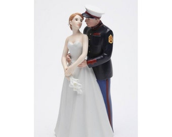 army man wedding cake topper marine wedding etsy 10823