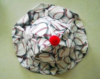 Baby Sun Hat Large Baseballs Summer Childrens Sun Hat