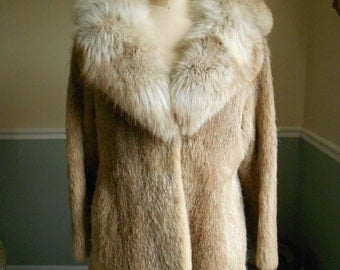 Fox and Nutria Coat