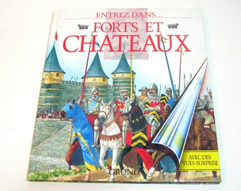 Forts et Chateaux by Brian Williams, Adapted by d'Ariel Marinie, French Book