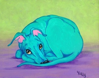 Italian Greyhound art, greyhound art, courtsart