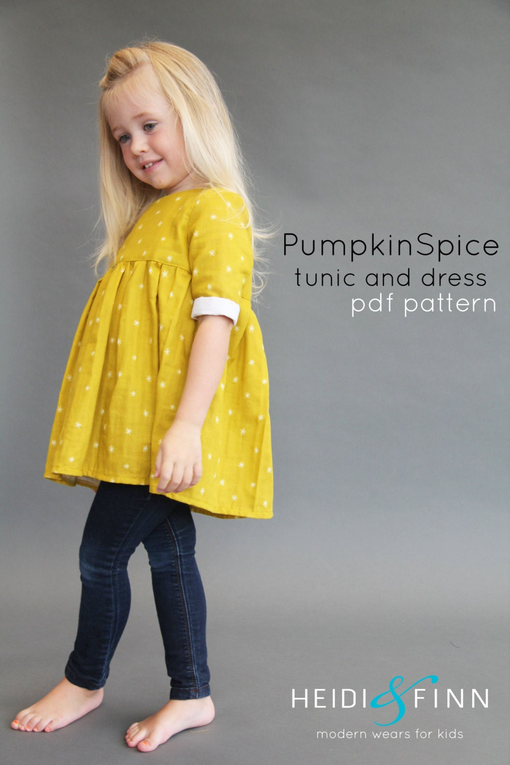 Modern kids sewing patterns image collections craft decoration ideas pumpkin spice pdf pattern and tutorial 12m 12y tunic dress zoom jeuxipadfo image collections jeuxipadfo Choice Image