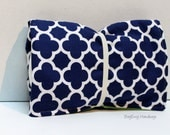Navy Quatrefoil Changing Pad - Or Custom To Match Your Bag