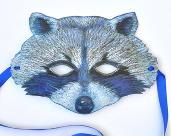 Large Raccoon Mask