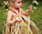 Scared Me Scarecrow  Tutu Dress Costume 0-5T Great for Halloween Birthdays Portraits