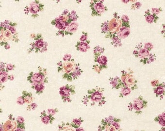 Emma 2 Collection   by From Robert Kaufman Ivory Small Floral    SRK672515