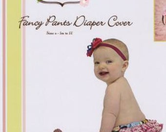 Fancy Pants Pattern  Sizes 3M to 3T Diaper Cover Little Lizard King