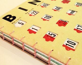 """Hand-Bound Bingo Book - 6.75"""" x 8.25"""""""