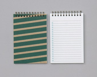 Bold Stripe List Book - Medium