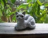 Cat Angel Memorial Statue / Memorial Concrete Statue / Angel Cat